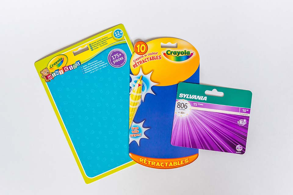 CTH RPC019 Cartes blister